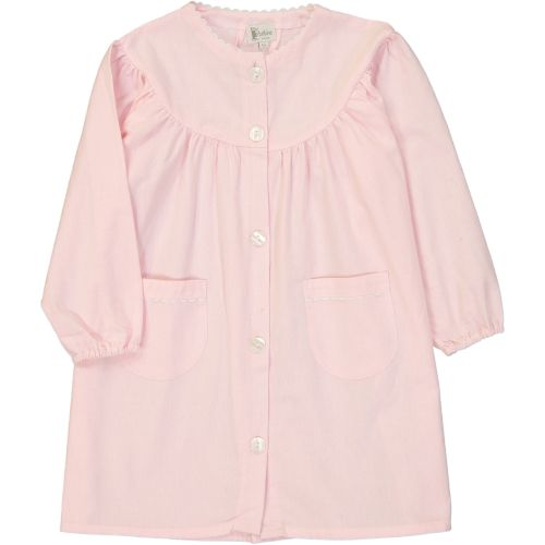 Dupanloup - Tablier maternelle fille, col Rond – Rose