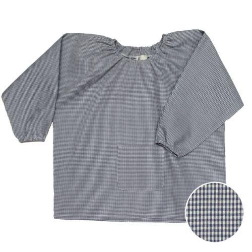 La Providence - Blouse TPS – Vichy gris