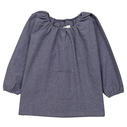 Blouse école Maternelle – Bleu Jean