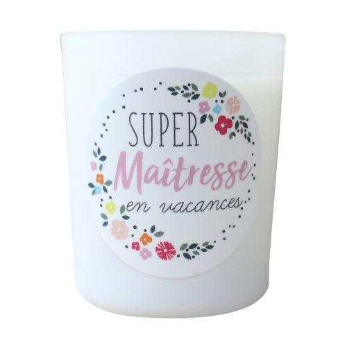 Bougie parfumée - Super Maîtresse en vacances