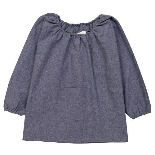 La Providence - Blouse TPS – Bleu Jean