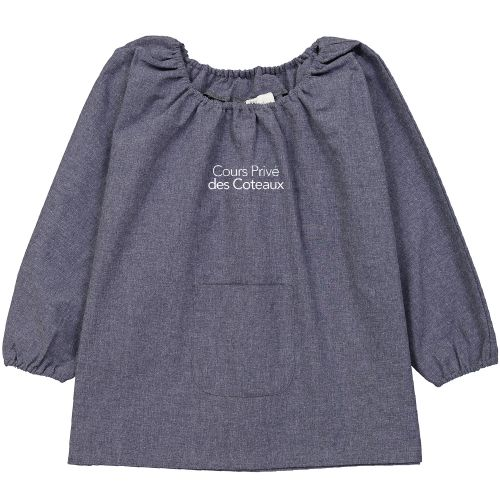 Cours Privé des Coteaux - Blouse école Maternelle – Bleu Jean