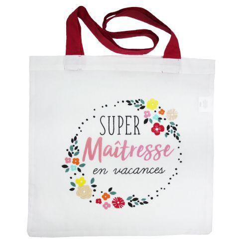 Un sac tendance et pratique pour dire merci à la maîtresse de vos enfants !