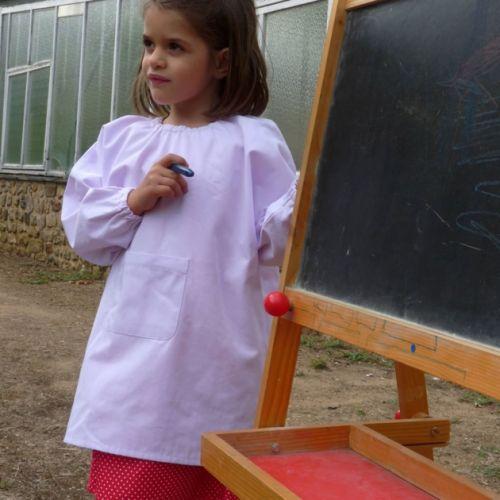 Jeanne d'arc la madeleine - Blouse école maternelle - Rose