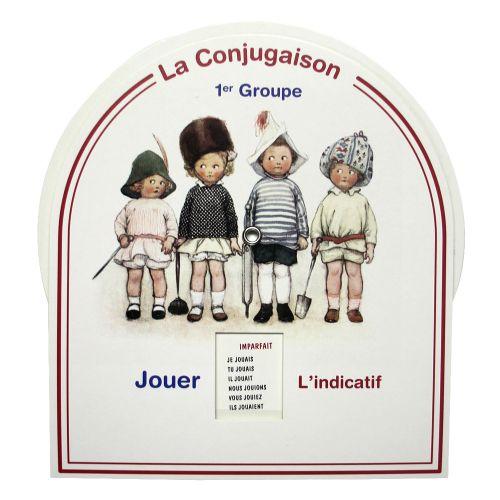 Disque de conjugaison - 1er groupe
