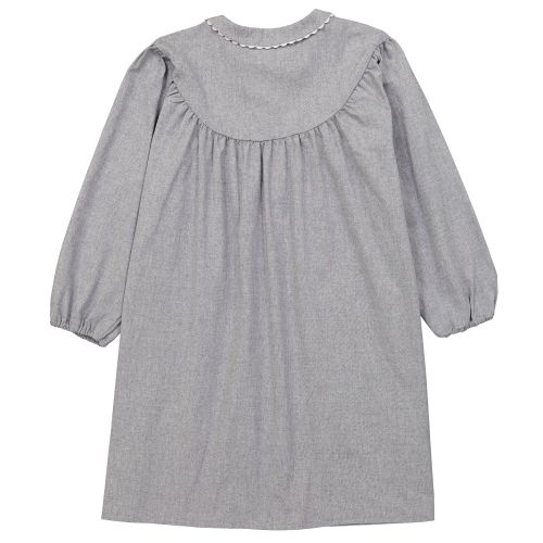 Saint Do - Tablier Maternelle, col Claudine – Gris