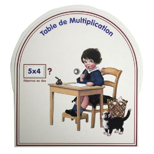 Disque de multiplication - garçon
