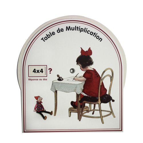 Disque de multiplication - fille