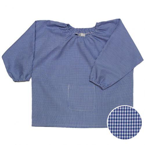Saint Do - Blouse Maternelle – Vichy bleu