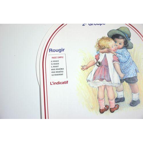 Disque de conjugaison - 2ème groupe