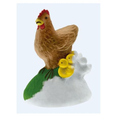 Mako Moulages - La poule et ses poussins