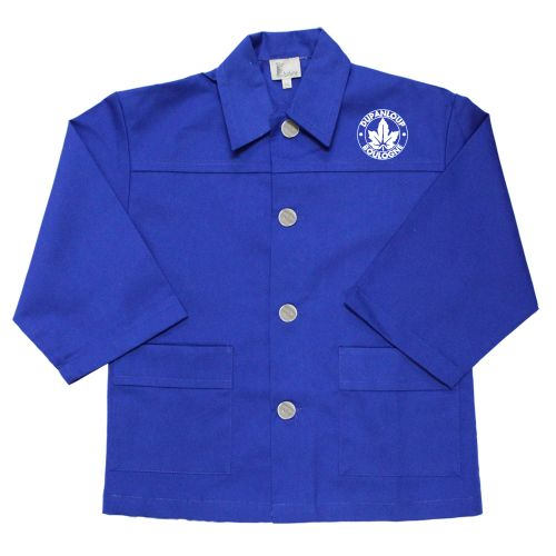 Dupanloup - Tablier école garçon - Bleu