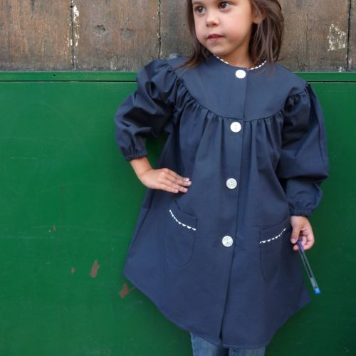Violette, marine